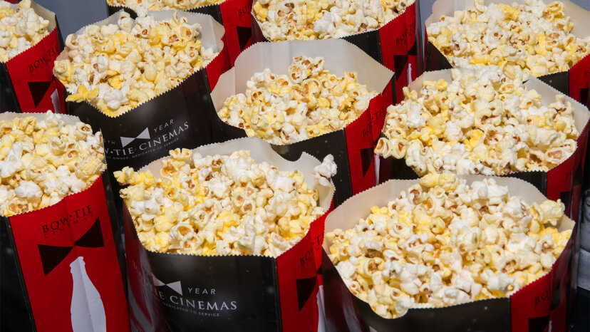 popcorn, butter