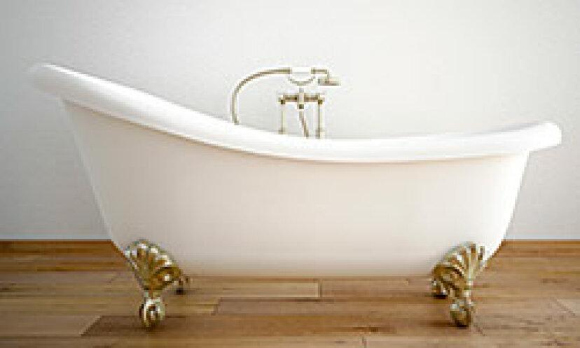 古い磁器の浴槽をきれいにする方法
