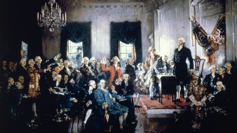 U.S. Constitution is signed
