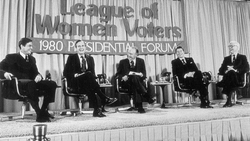 Reagan, Bush, Anderson 1980 debate