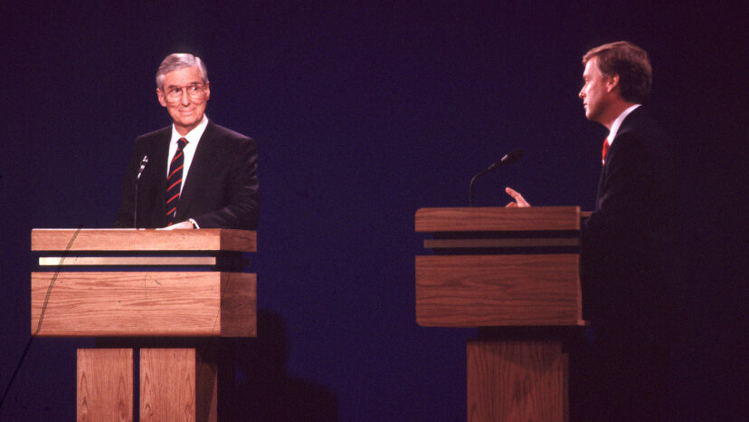 Lloyd Bentsen, Dan Quayle, VP debate