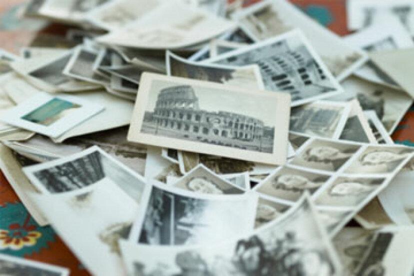 本当に、本当に古い写真を適切に保存する方法
