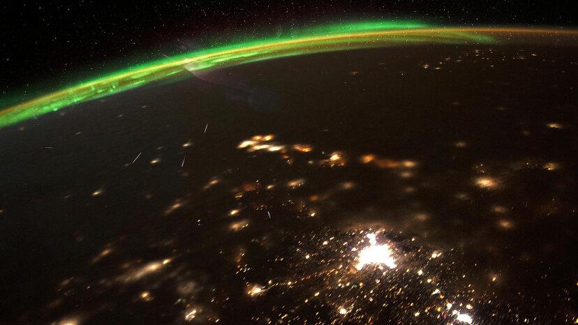 Quadrantids, ISS