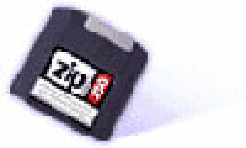 Zipドライブはフロッピーよりもはるかに多くのデータをどのように保存しますか?