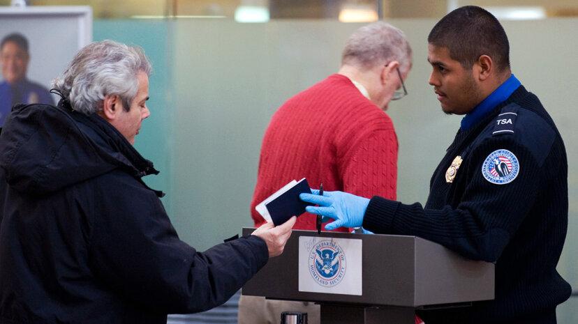 TSA security check REAL ID act