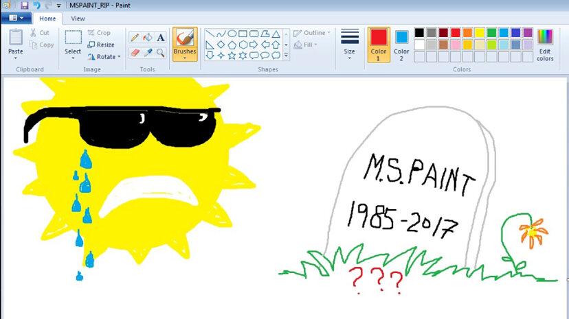 ファンはMSペイントの死で剛毛、マイクロソフトは反応する