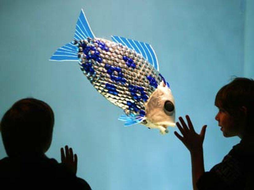 ロボットの魚は汚染を見つけることができますか?