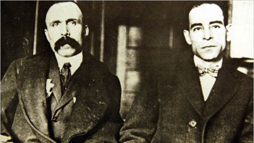 Sacco and Vanzetti, trial