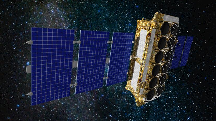 インターネット衛星の星座はどこでもブロードバンドをビームします