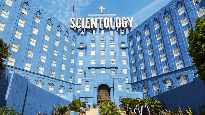 Church of Scientology building on Sunset Boulevard in Los Angeles. Ted Soqui/Corbis via Getty Images