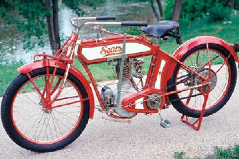 シアーズは本当にそのカタログでオートバイを販売しましたか?