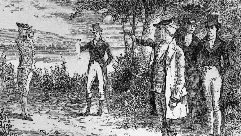 Alexander Hamilton, Aaron Burr duel