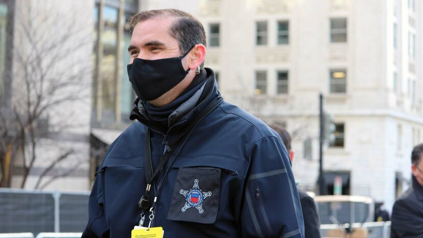secret service personnel