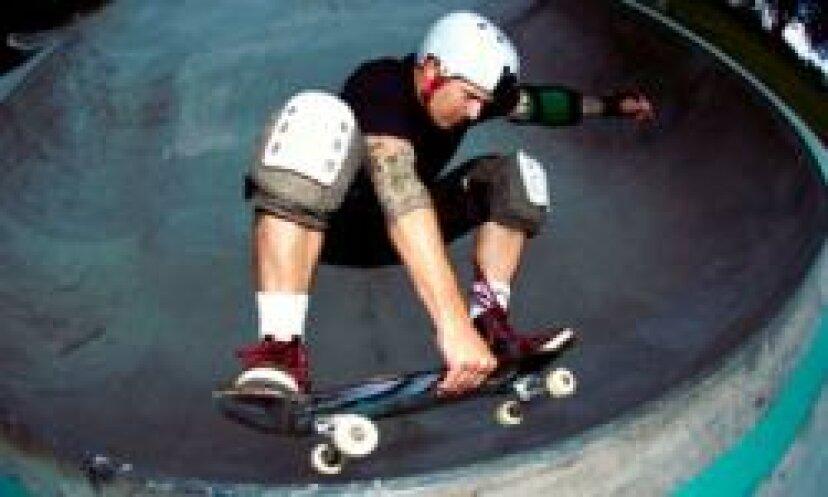 スケートボードの写真