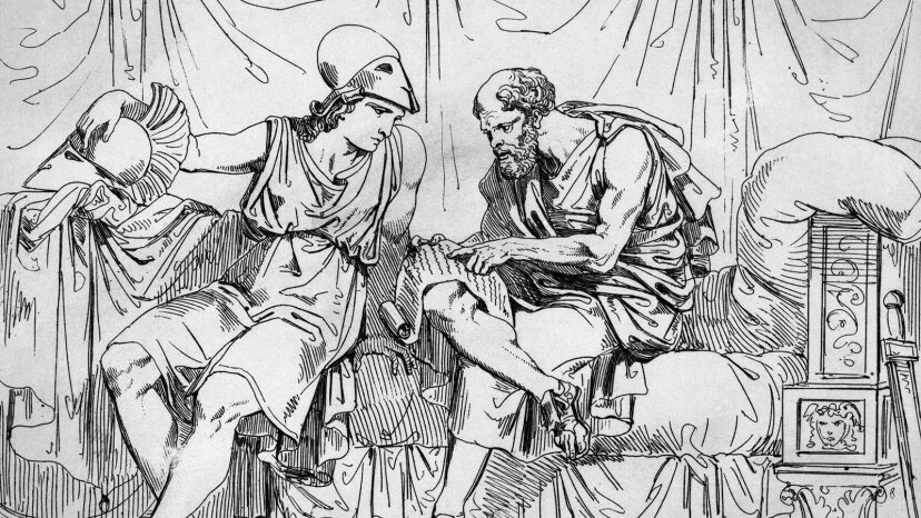 Socrates teaches Aecibiades