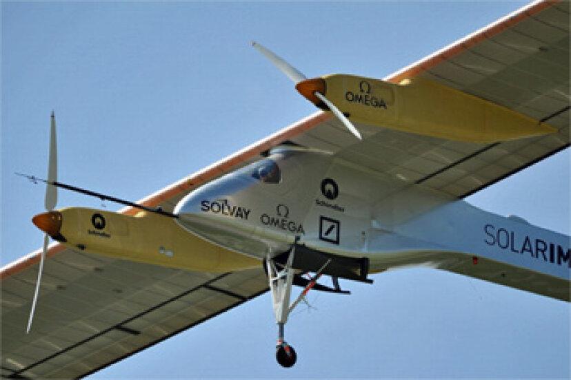 ソーラー航空機のしくみ