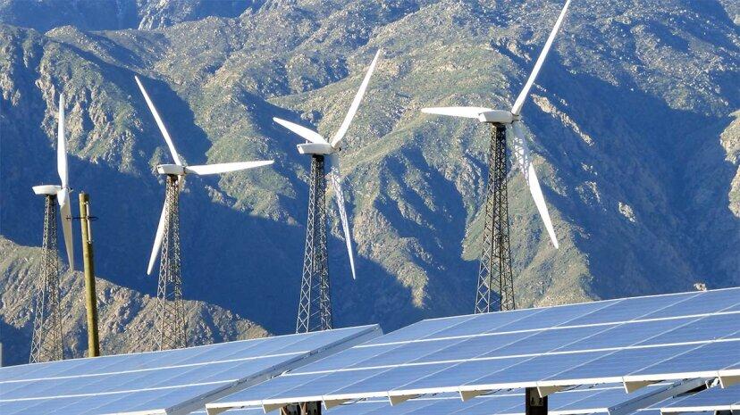 Abgefangenes CO2 könnte Energie aus Sonnenkollektoren und Windkraftanlagen speichern