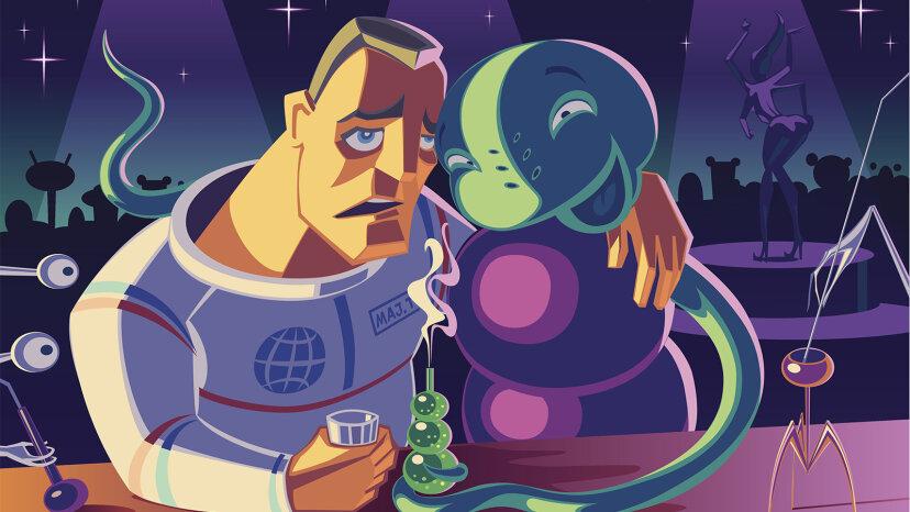 Aquí está el rumor sobre el alcohol en el espacio