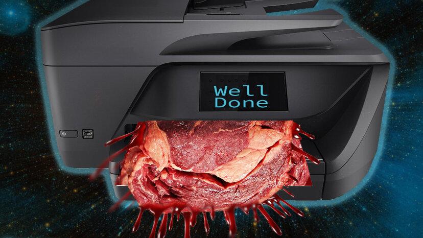3-D Printed Space Meat: Es ist was zum Abendessen, Astronauten
