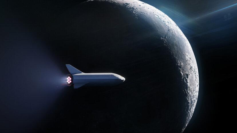 SpaceX reserva su primer pasajero privado a la Luna