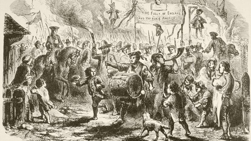 Por qué se denigró la Ley del Timbre en las Colonias Americanas