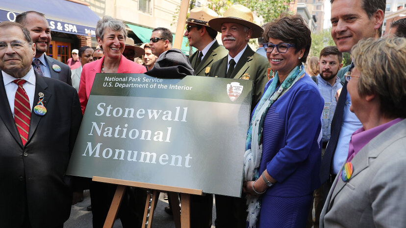 The Stonewall Inn was declared a national monument in 2016. Spencer Platt/Getty Images