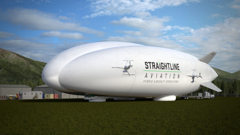 airship, dirigible