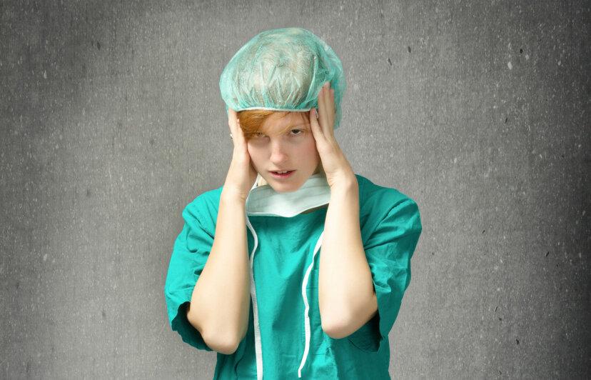 5最もストレスの多い病院の仕事