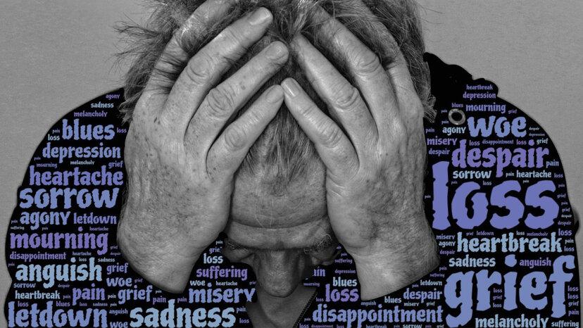 STUG:悲しみが突然のボルトのように当たったとき