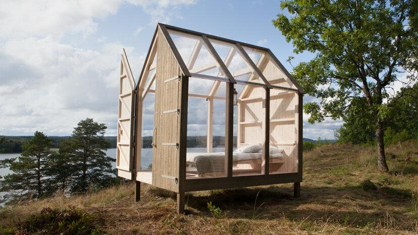 このスウェーデンの小屋での3日間は不安を軽減できますか?