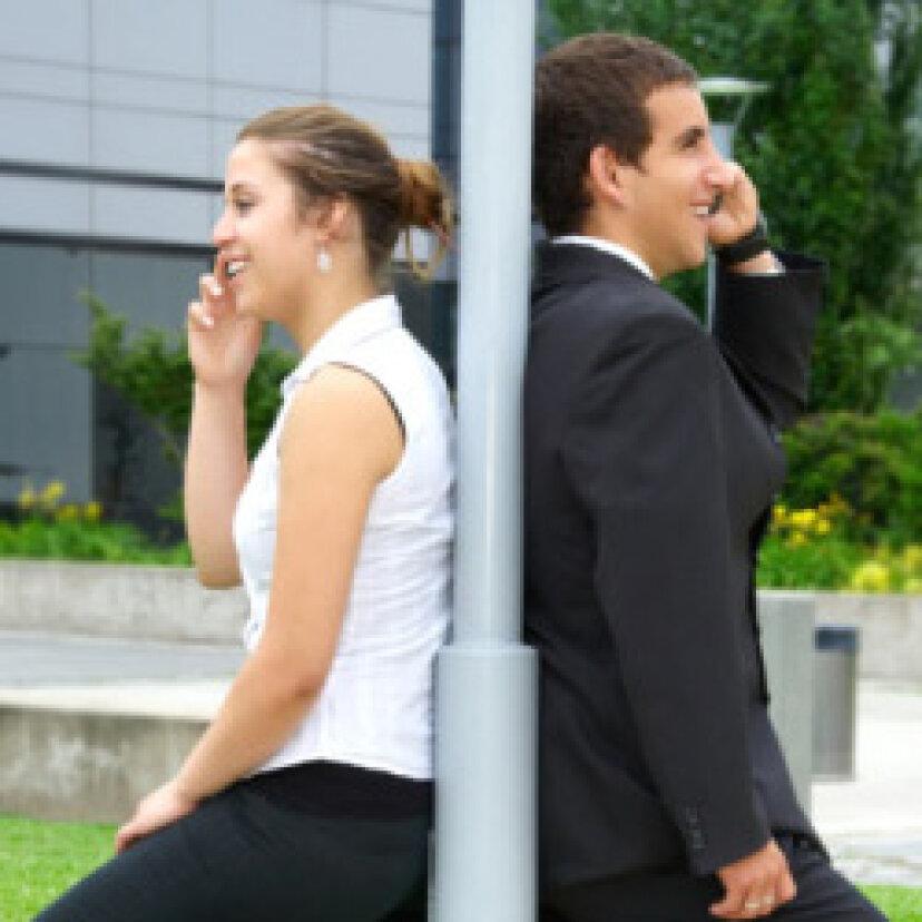 電話で女の子と話すための5つのヒント
