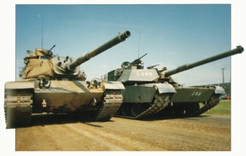 歴史的な戦車