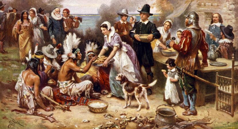 first, Thanksgiving