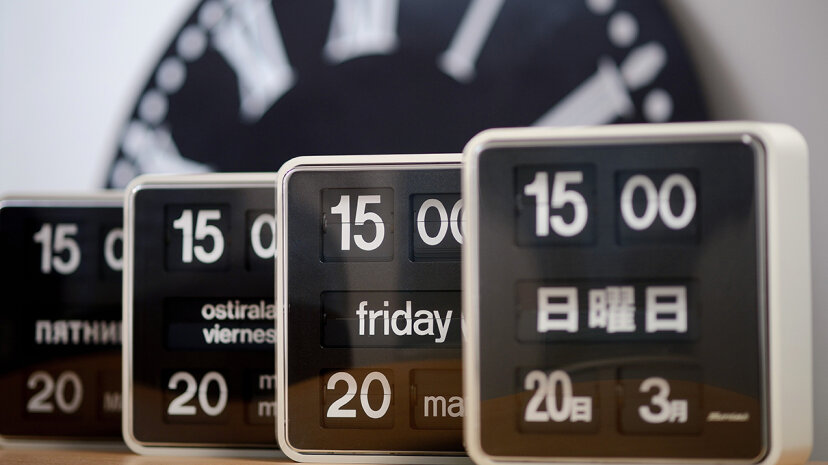 Language and perception of time are more linked than you may think. JEAN-SEBASTIEN EVRARD/AFP/Getty Images