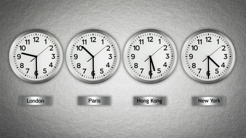 ¿Por qué no estamos todos en la misma zona horaria?