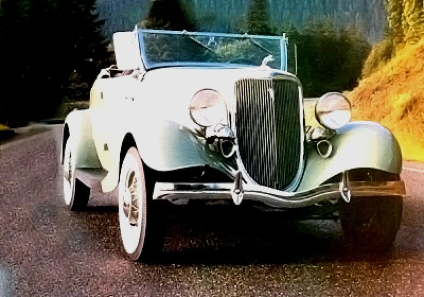 ティミス-フォードV8ロードスター