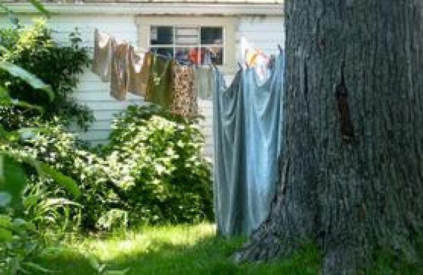 衣類をライン乾燥するためのヒント