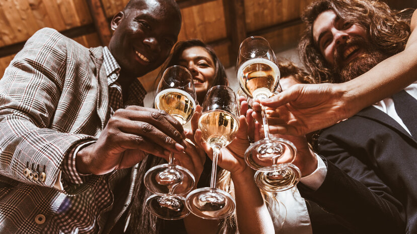 新年を迎える:乾杯101