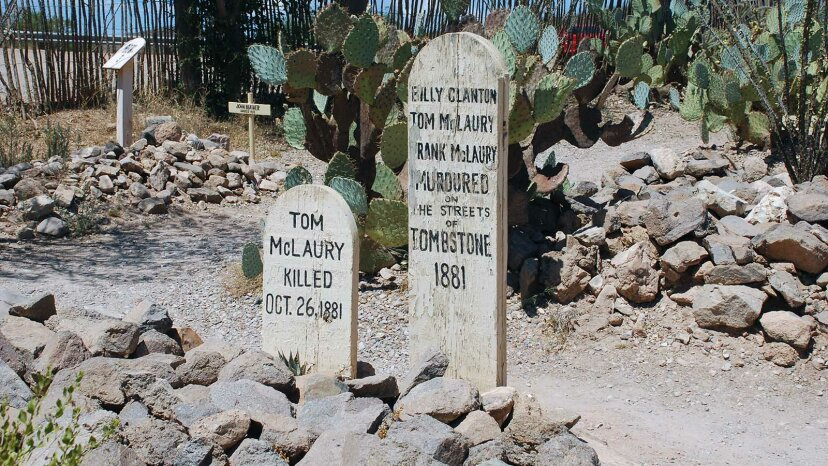 Tombstone, Arizona graves