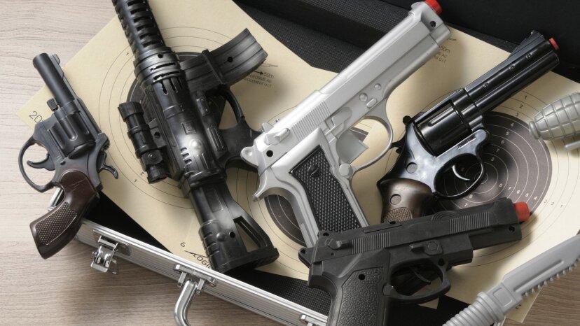 Different guns