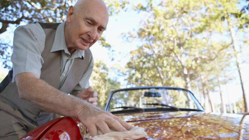 車から樹液を取り除く方法