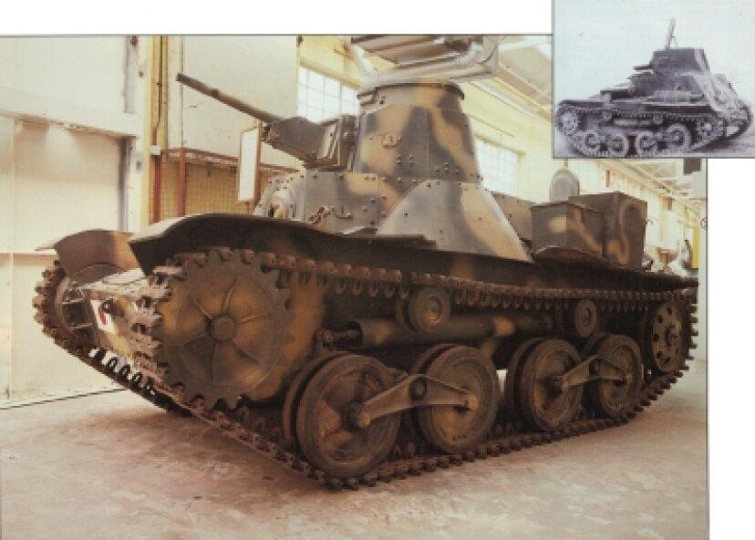 タイプ95KE-GO軽戦車の紹介