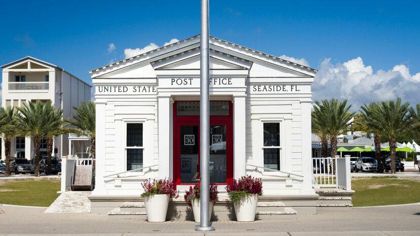 post office in Seaside, Florida
