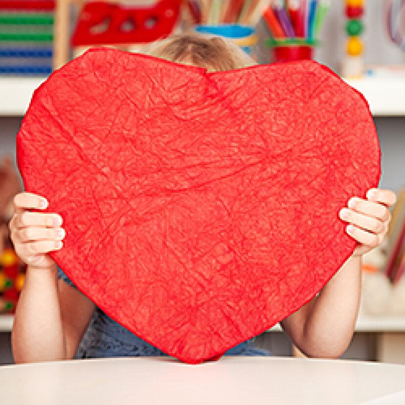 子供に優しい自家製バレンタインのアイデア