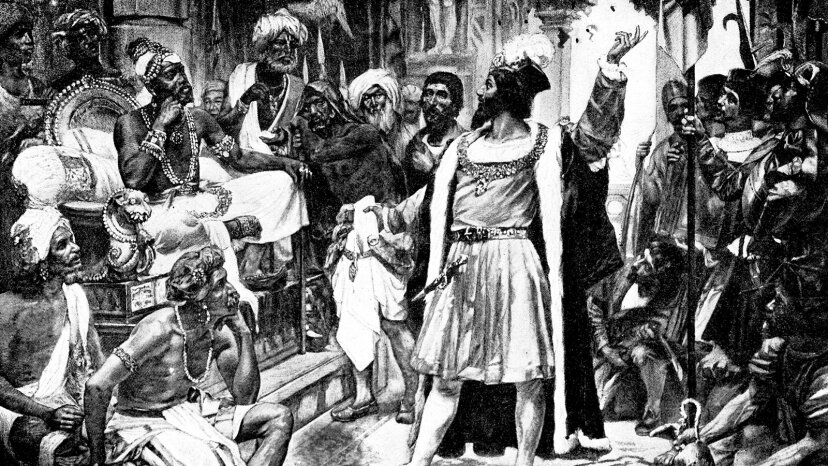 Vasco da Gama, Samorim