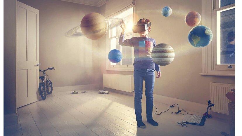 Vitual reality boy
