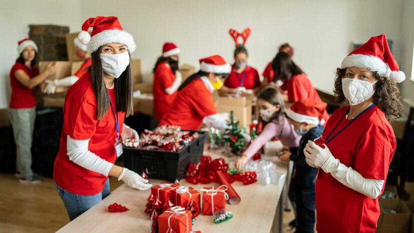 クリスマスのボランティア