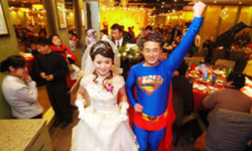 10の最も奇抜な結婚式のテーマ