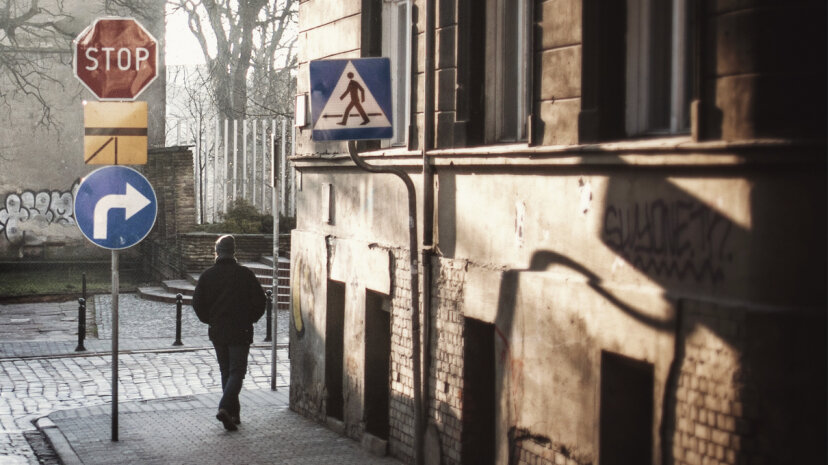 When taking a walk around the block, is there something driving you to turn right or left? Is there something more to this than habit? Erik Witsoe/EyeEm/Getty Images