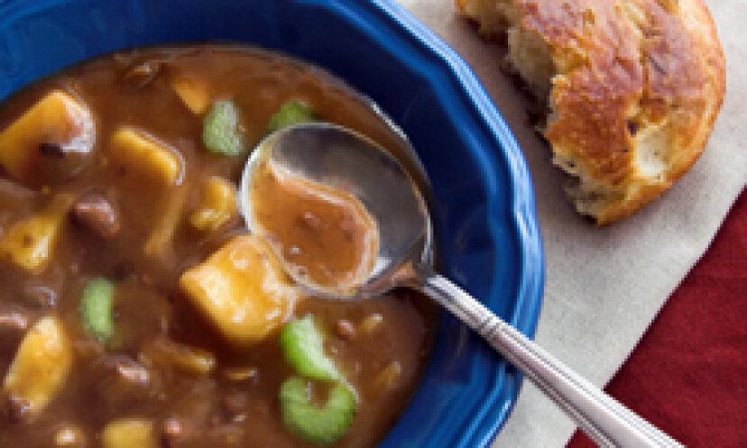 10暖かい冬の食事